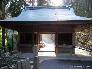 60横峰寺山門