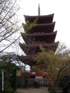 86志度寺 五重塔