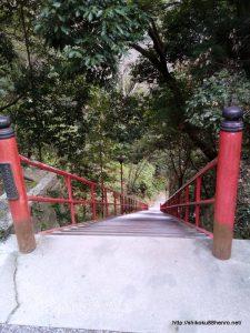 弥谷寺の108階段上から