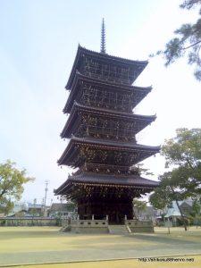 善通寺五重塔
