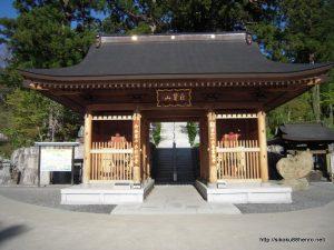 雲辺寺仁王門