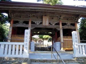 金剛福寺の仁王門