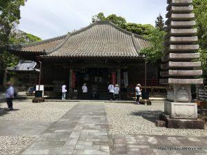 最御崎寺の本堂