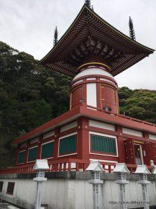 薬王寺の瑜祇塔