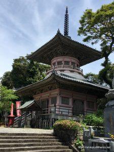 最御崎寺の多宝塔