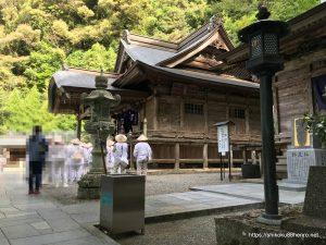 神峯寺の本堂