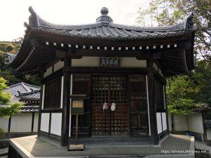 大日寺の六角堂