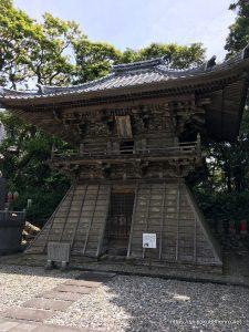 最御崎寺の鐘楼堂