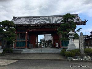 井戸寺山門