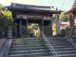 藤井寺の山門