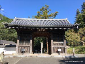 切幡寺山門