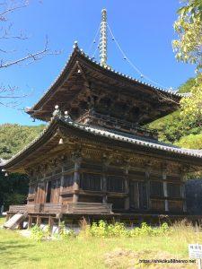 切幡寺大塔