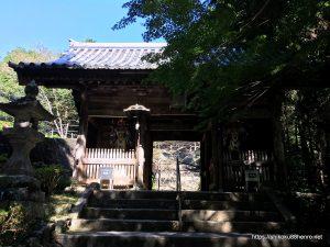 熊谷寺の山門