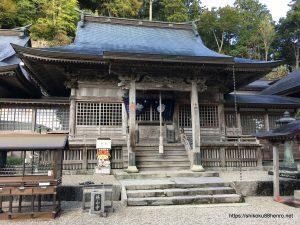 焼山寺本堂